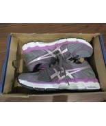 BNIB ASICS GEL Forte Road Running Shoes, Women, T359N, Size 6.5, grey/pu... - $64.35