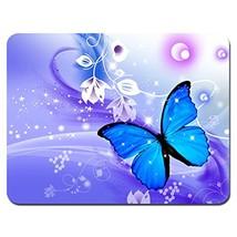 Meffort Inc Standard 9.5 x 7.9 Inch Mouse Pad - Flyaway Butterfly - $7.96