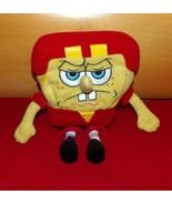 "SpongeBob SquarePants Jakks Nickelodeon Plush 8"" Serious Star Football P... - $7.29"