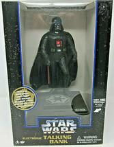 1996 Star Wars Electronic Talking Bank Darth Vader SEALED Thinkway Toys ... - $36.45