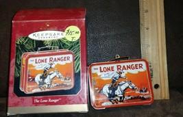 1997 Hallmark Keepsake Ornament THE LONE RANGER Mini  LUNCH BOX  Christm... - $5.99