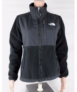 The North Face da Donna Nero Zip Denali Giacca in Pile Taglia Sp - $33.89