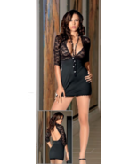 ESCANTE WOMEN'S DATE NIGHT DRESS WITH MATCHING G-STRING PANTY S-M - $24.99