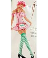 Strawberry Girl  Adult XS Halloween Costume Cosplay Shortcake Pink Sexy ... - $39.59