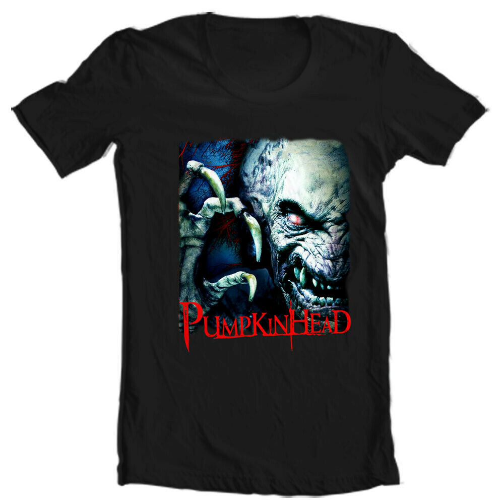 Pumpkinhead T Shirt retro monster movie black graphic tee vintage horror film