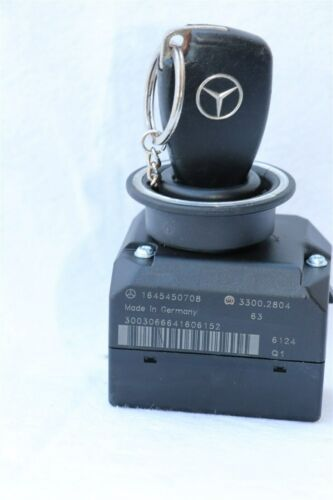 Mercedes Ignition Start Switch & Key Smart Fob Keyless Entry Remote 1645450708