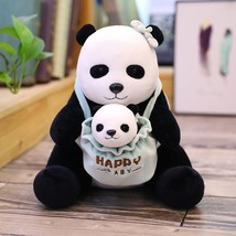 "Lovely Mother Child Panda Polar Panda Plush Toys for Girlfriend""s Birthd... - $17.60"