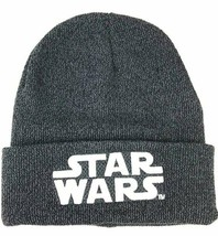 NEW w/ Tags OFFICIAL Star Wars Logo Young Men's Knit Helmet Beanie Cap - $16.82
