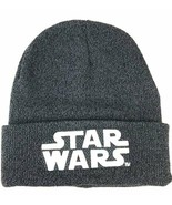 NEW w/ Tags OFFICIAL Star Wars Logo Young Men's Knit Helmet Beanie Cap - $15.79