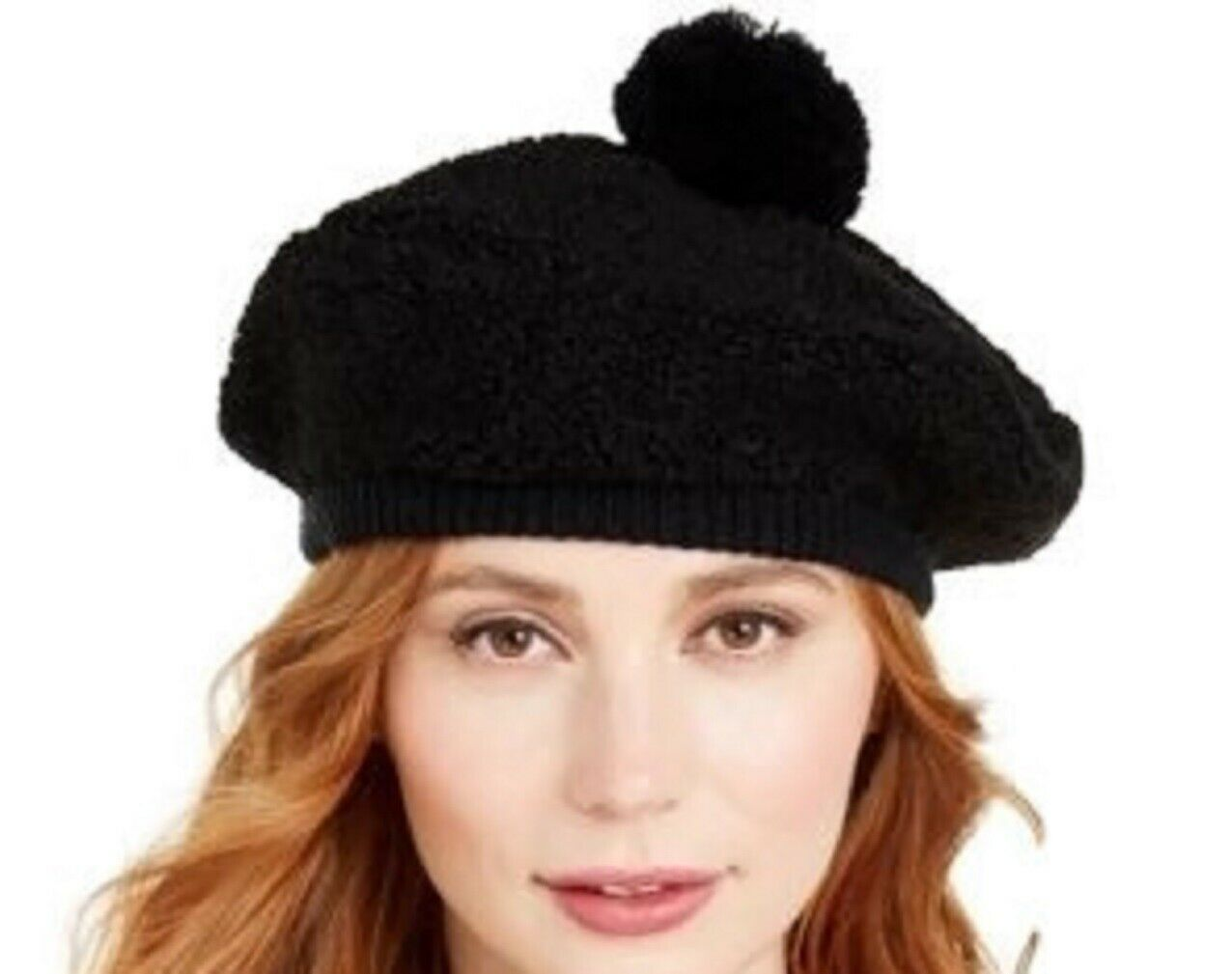 Primary image for Koolaburra By UGG Faux Shearling Beret Black