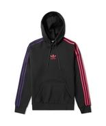New Adidas Originals 2018 Men hoody Jacket Pullover hoodie Jumper Black ... - $99.99+
