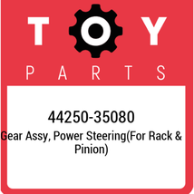 44250-35080 Toyota Gear assy, power steering(for rack & pinion) 44250350... - $1,258.42