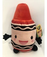 "Crayola Red Crayon Crayons Plush Toy 9.5"" New W1E - $13.95"