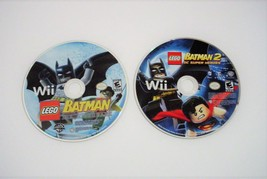 LEGO Batman The Video Game and LEGO Batman 2 DC Super Heroes Nintendo Wii  - $12.99