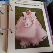 Set of 2 - Golden Quick 'N Easy Crocheting Pattern Books Binders with Contents image 2