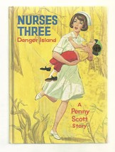 Nurse Story Penny Scott  NURSES THREE DANGER ISLAND 1964  1ST PICTURE COVER - $18.54