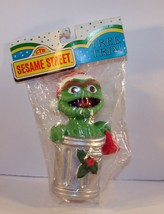 Nip Sesame Street Jim Henson Kurt Adler Christmas Ornament Oscar The Grouch New - $8.90