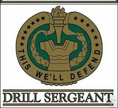 "US ARMY DRILL SERGEANT DI CAR WINDOW 5"" STICKER DECAL - $23.74"