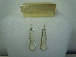 International Centennial 1972 Earrings Silverplate - $31.18