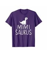 Dad Shirts - Mimi-Saurus Dinosaur Family Matching Pajama Fun Womens Shir... - $19.95+