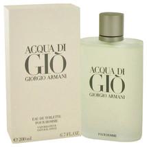 ACQUA DI GIO by Giorgio Armani Eau De Toilette  6.7 oz, Men - $109.72