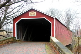 Kreidersville Covered Bridge 13 x 19 Unmatted Photograph - $35.00