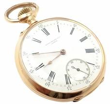Rare! Patek Philippe 18k Yellow Gold Triple Signed 20s Pocket Watch c. 1... - $7,250.00