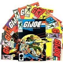 GI Joe 10 Comic Book Lot Marvel Snake Eyes Scarlett Quick Kick Flint Roa... - $29.65