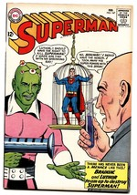 Superman #167 comic book 1964-DC Comics-Brainiac origin-Lex Luthor - $93.12