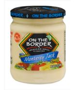 Keto snacks: On The Border Monterey Jack Queso 15.5 oz. 2 jars (4 carbs) - $25.99