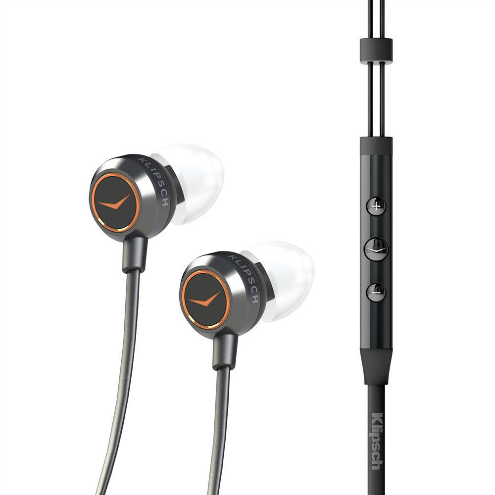M-SLB 8pcs Triple Flange Replacement Ear Tips Buds for Klipsch X11i Earphones