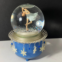 """Gift Of Fortitude 8/"""" 2014 Boxed Times Square Snowglobe//Music Box"""