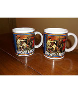 Pair of Maxwell House Coffee Mugs, vintage style circa 1949 and 1951 - $12.55