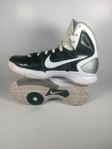 Women's Nike Zoom HYPERDunk Size 6 407633-300 - Green Air 2010 Basketbal... - $64.57