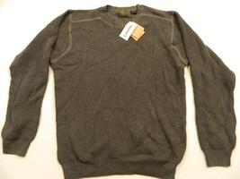 M86 Nwt Timberland Grey Crew-neck Long Sleeve Sweater Shirt Jacket Men's L - $19.75