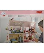 HABA DOLLHOUSE LITTLE FRIENDS VILLA SUNSHINE FOR KIDS. MINIATURE, DURABL... - $39.19