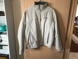 MEN'S COLUMBIA SPORTSWEAR INSULATED JACKET BROWN SIZE MEDIUM - $13.56
