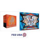Solgaleo Elite Trainer Booster Box Sun & Moon + Ash-Greninja EX Box Poke... - $71.99