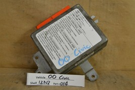 1996-2000 Honda Civic ABS Braking System 39790S01A020M1 Module 14 12N2 - $9.89