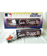 SAN DIEGO PADRES TRACTOR TRAILER MLB 2000 REPLICA SEMI DIECAST TRUCK 1:8... - $14.99