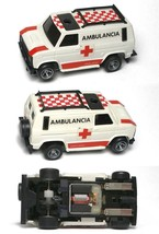 1980 Ideal Rare To See Ambulance Van Truck Slot Car Unused Majorette Chassis A++ - $59.39