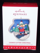 Hallmark Keepsake 2016 Cookie Cutter Christmas #5 Ice Skating Mouse Ornament - $12.16