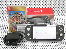 Secondhand Nintendo Switch Lite Gray Light Substance Accessory Complete Product - $306.70