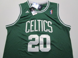 RAY ALLEN / NBA HALL OF FAME / AUTOGRAPHED BOSTON CELTICS PRO STYLE JERSEY / COA image 2