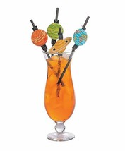 "Outer Space Party Paper Straws (24 Pack) 7 3/4"" with 1 3/4"" diam. - $7.59"