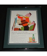 1959 Seven Up 7 Up Highballs 11x14 Framed ORIGINAL Vintage Advertisement - $41.71