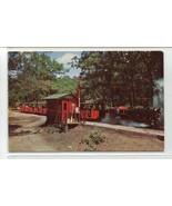 Riverside Great Northern Railway Miniature Train Wisconsin Dells WI post... - $4.90