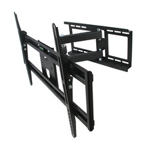 MegaMounts Full Motion Television Wall Mount with Bubble Level for 32-70... - $72.51