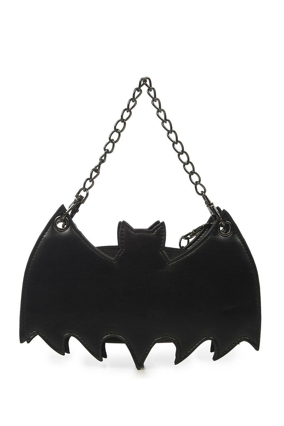 Primary image for Lost Queen Bat Celebration Halloween Gothic Punk Handbag Backpack BG7267