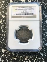 1690 Alemania Brunswick-Wolfenbuttel 6 Mariengroschen NGC Vf35 Lote #G191 - $163.49